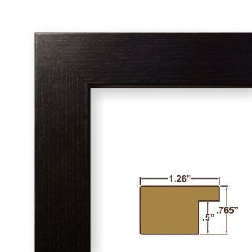 Amazon Com 11x17 Picture Poster Frame Smooth Finish 1 26 Wide Silver Stainless 26966 Home Kitchen Poster Frame Craig Frames Brown Picture Frames