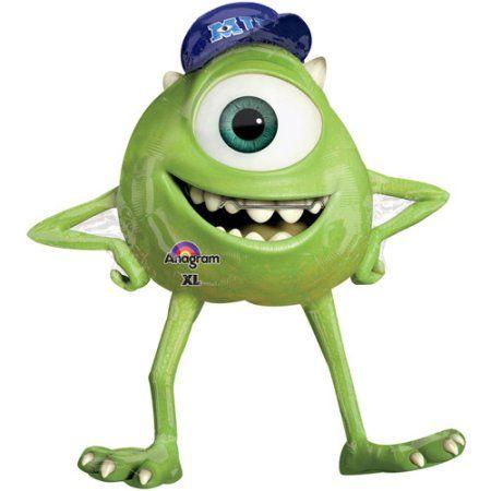 Monsters Inc Mike Shaped Balloon Walmart Com Monster University Mike From Monsters Inc Disney Monsters