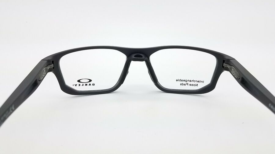New Oakley Crosslink Fit Rx Frame Satin Pavement Ox8136 0353 53mm