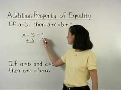 For A Complete Lesson On The Properties Of Equality Go To Http X2f X2f Www Mathhelp Com 1000 Online Ma Geometry Help Properties Of Addition Online Math