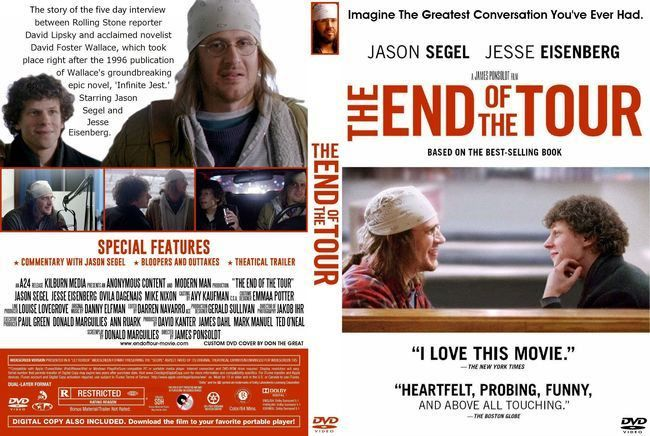 The End Of The Tour Latino Ingles Dvd Full Free Dvd Covers David Lipsky David Foster Wallace