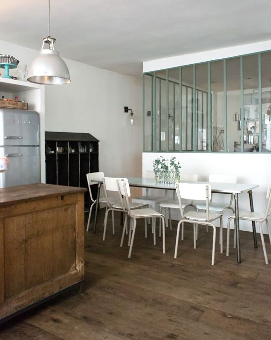 Zoé, Paris 17ème - Inside Closet Kitchens Pinterest Interiors
