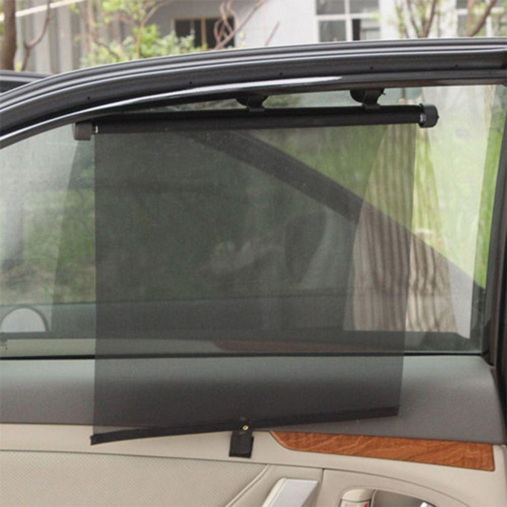 Retractable Car Windshield Sun Shade Front Window Car Visor Windshield suckers