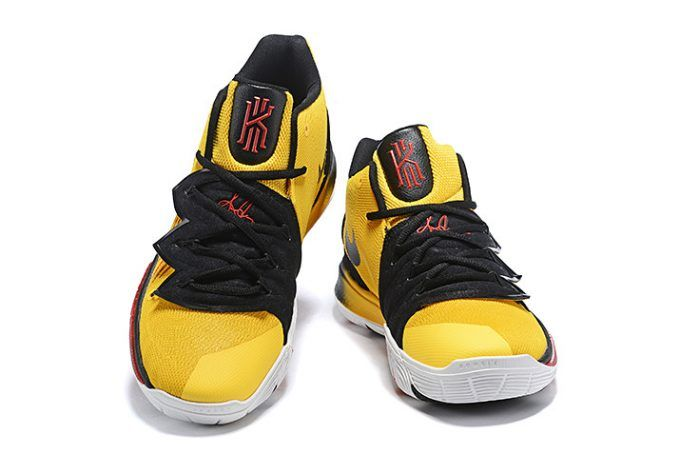 "Men s Nike Kyrie 5 ""Bruce Lee"" Mamba Mentality Tour Yellow Black in ... 6ca5b5202"