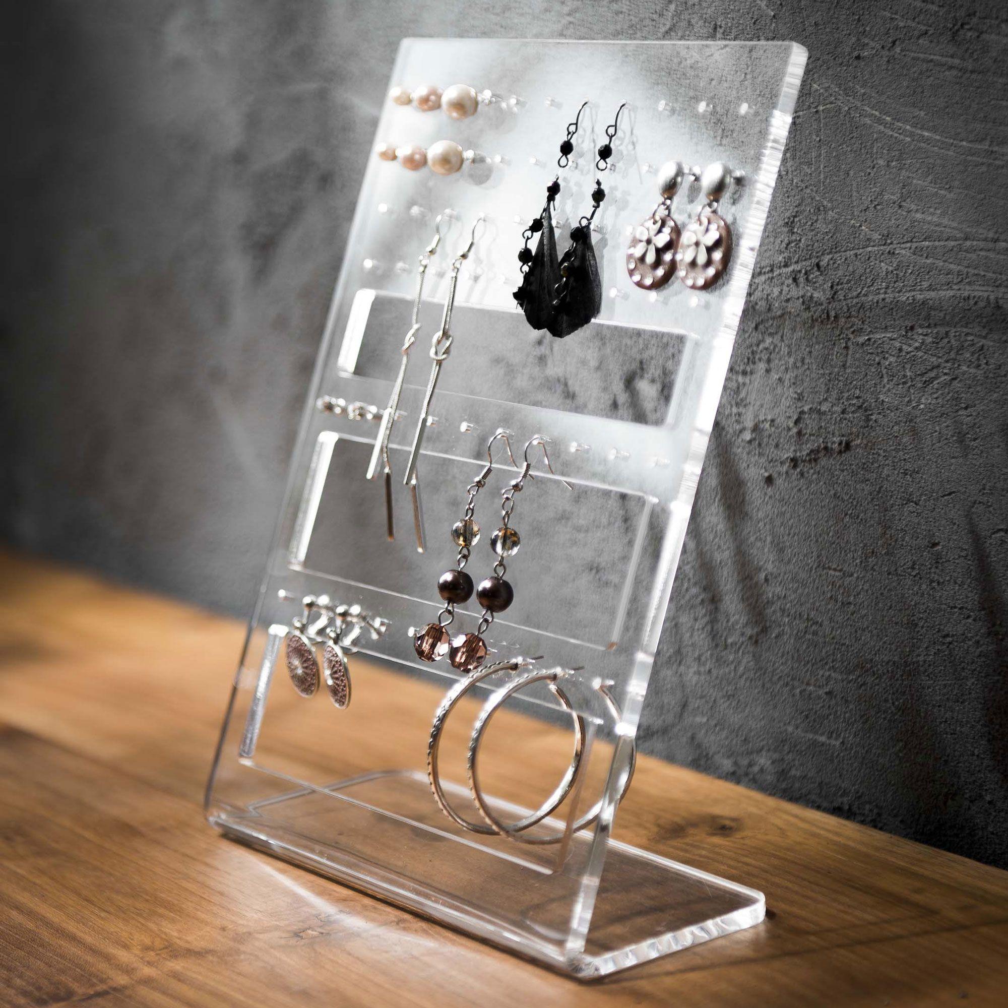 rangement boucles d'oreilles fait maison - Recherche Google (avec images)   Rangement de bijoux