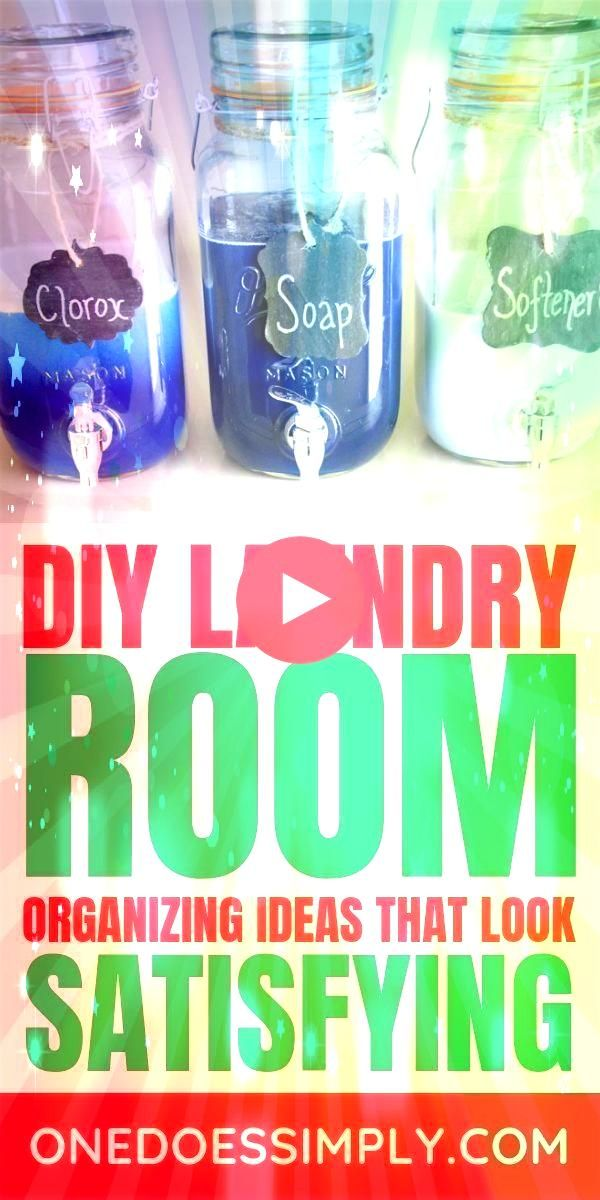 Ideas Every Tidy Person Should Know 9 DIY Laundry Room Organization Ideas Every Tidy Person Should Know  9 DIY Laundry Room Organization Ideas Every Tidy Person Should Kn...