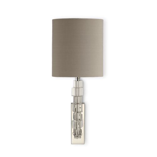Porta romana twl27s lartigue wall light small clear with porta romana twl27s lartigue wall light small clear with nickel mozeypictures Image collections