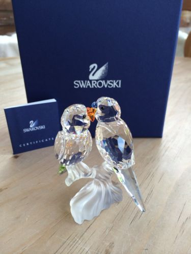 d01ee593a Swarovski Budgies / Budgerigar (680627) - Brand New in Box - Never Displayed