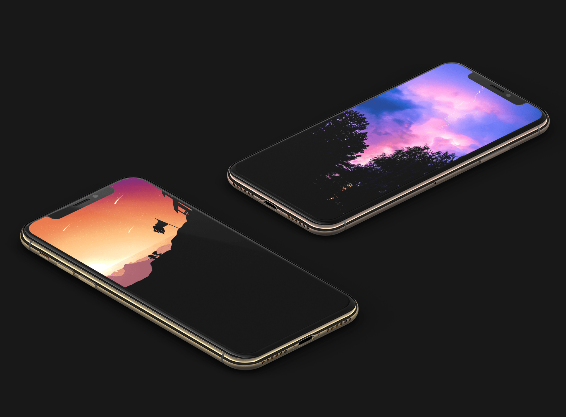 True Black And Oled Optimized Wallpapers For Iphone Xs Iphone
