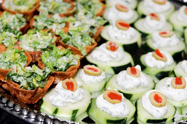 cheap wedding reception appetizers shower and