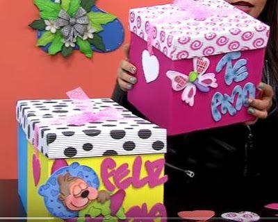 Cajas de cart n corrugado aprende c mo hacerlo paso a paso for Cajas de carton decoradas