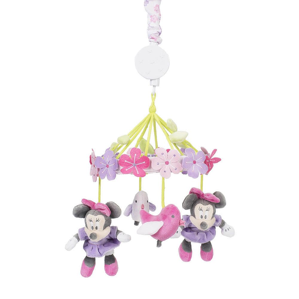 Disney Baby Minnie Mouse Love Blossoms Premier Musical Mobile Kids Line Babies R Us Baby Minnie Baby Minnie Mouse Baby Disney