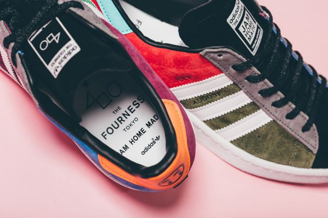brand new 36179 933ec THE FOURNESS x ADIDAS CAMPUS 80s (JAM) - Sneaker Freaker