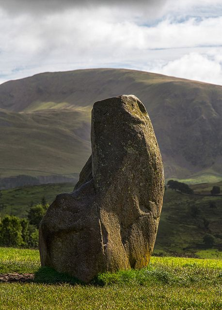 Castlerigg Stone circle was constructed by Neolithic farmers around 3000BC - Cumbria, England