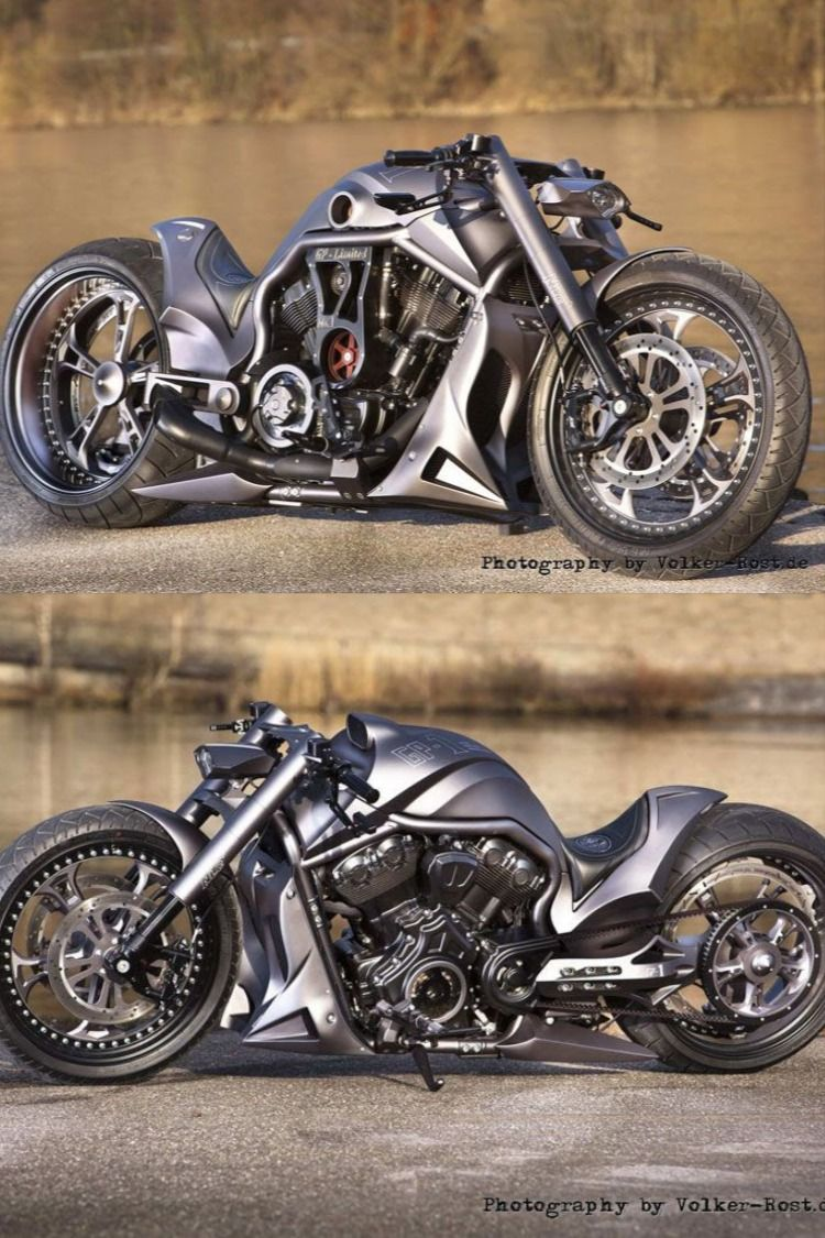 Customized Harley-Davidson Night Rod motorcycles by