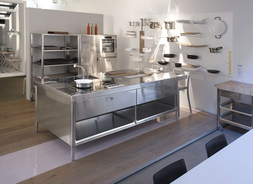 CUCINA A ISOLA CON SNACK 125X280 | Cucina, Freestanding kitchen and ...