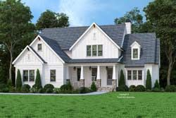 Modern farmhouse House Plan 4 Bedrooms 4 Bath 3009 Sq Ft Plan 85 1075