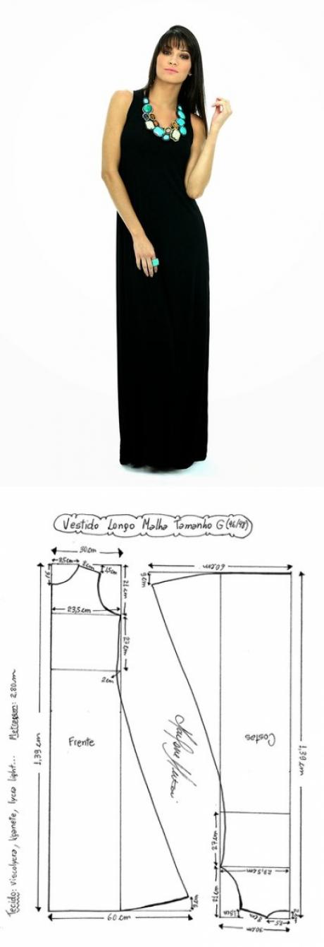 La costura | los patrones simples | las cosas simples | ПЛАТЬЯ ...