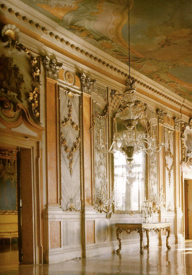 Beautiful Interior By Causa Design Group Grand Mansions: Palazzo Pisani Moretta, Venice Photograph By Mario Ciampi