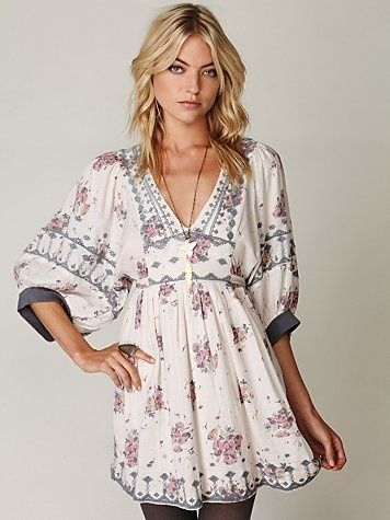 modernchiniserie dress | Free People tunic | Fashion: I'd wear this!!!