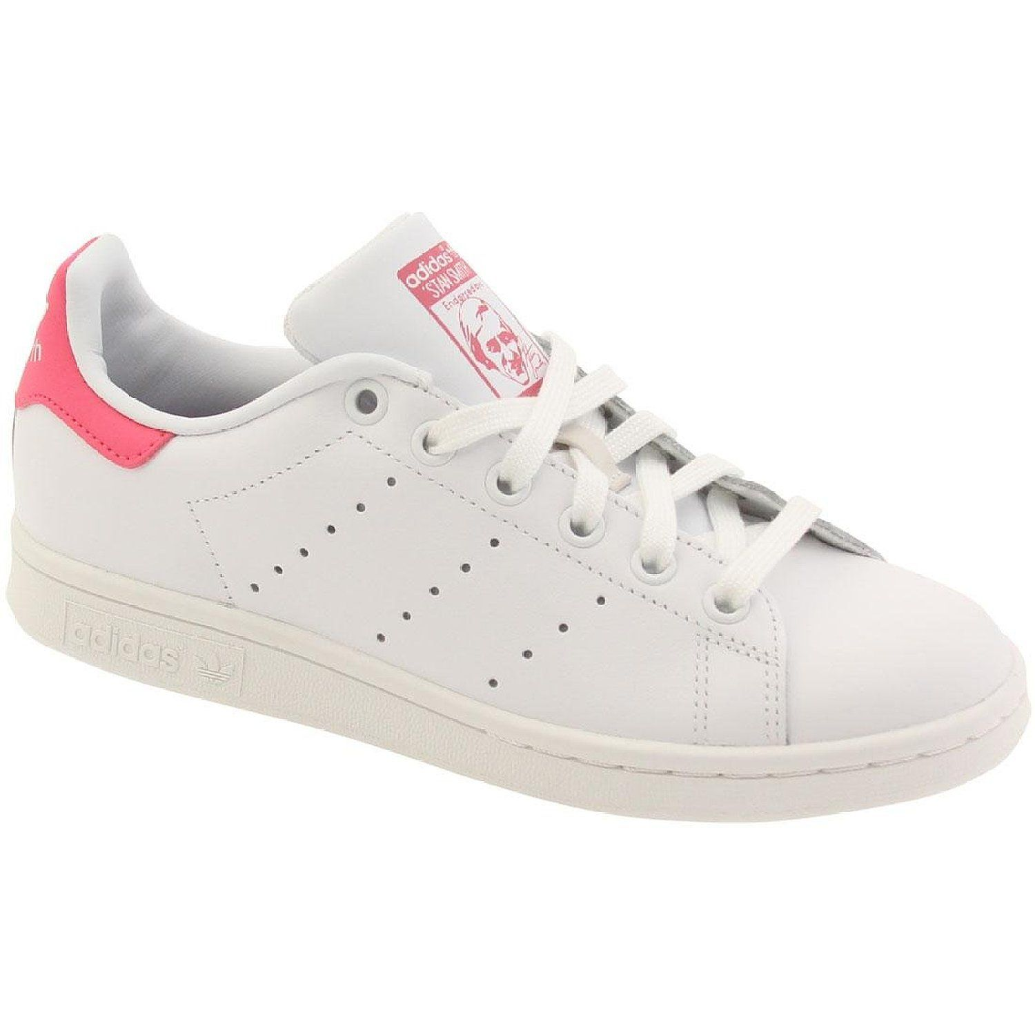 buy online 1cb21 3c181 Adidas Stan Smith Pink Amazon