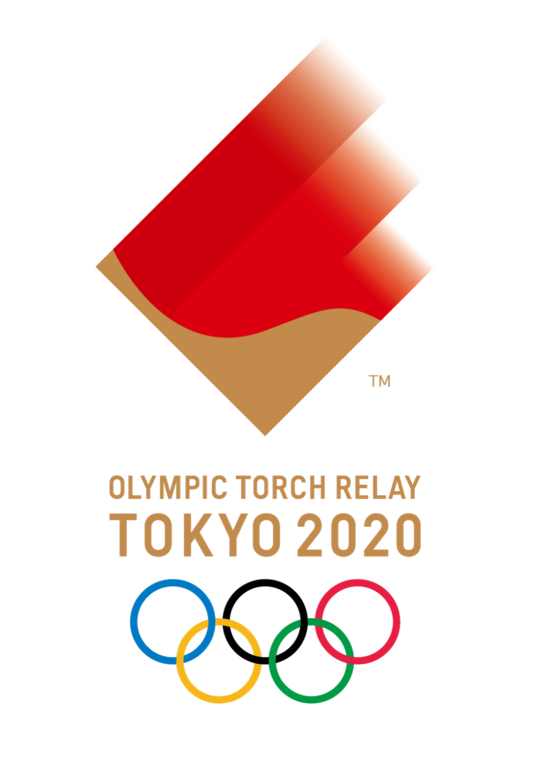 Olympic Torch Relay brand design 2020 olympics, Tokyo
