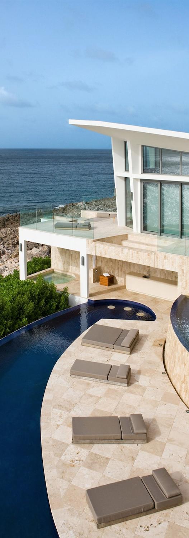 Villa kishti by frank alfred hamilton and cecconi simone for Pool design hamilton