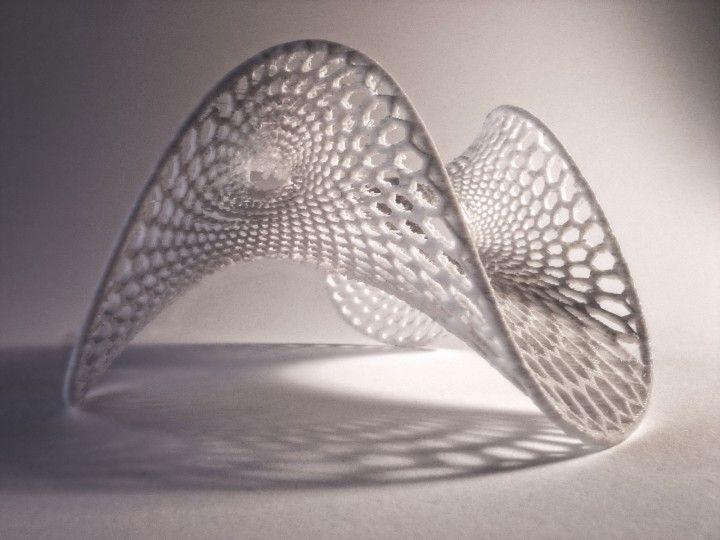 3d printing paraboloide hiperb lico architecture for Architecture parametrique