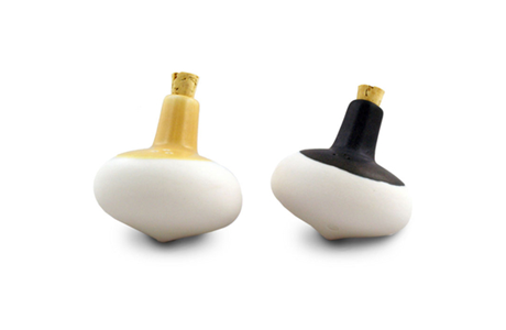 Get your spices spinning with the Tops Ceramic Salt and Pepper Shakers available at @A+R Store.