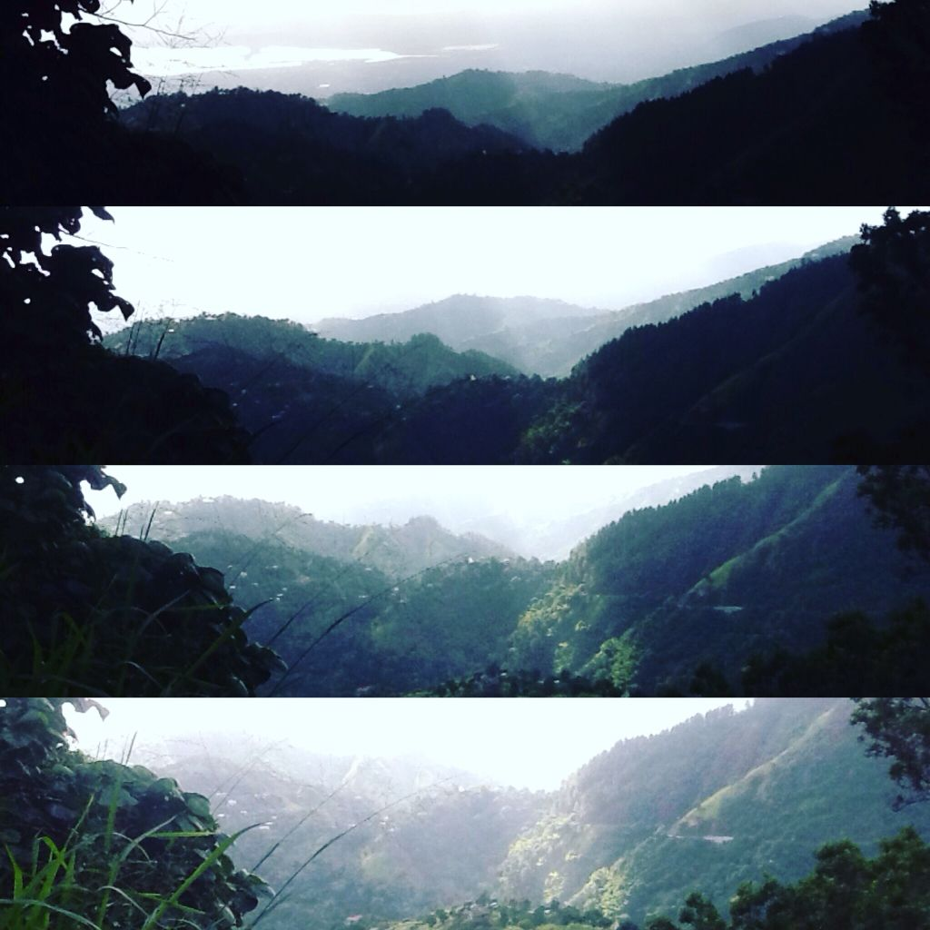 It's amazing how important lighting is. Here are 4 shots of the same scene, the only difference being camera placement in relation to light. #photography #photo #lighting #bluemountain #jamaica #important Instagram :@thecoloujess photo credit.
