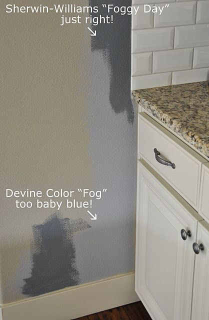 I Want Sherwin Williams Foggy Day PAINT Home Decor In