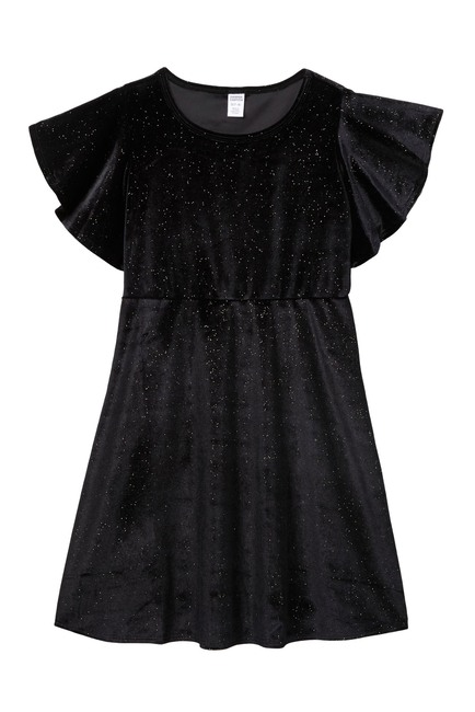 Harper Canyon | Sparkle Velour Dress (Big Girls #nordstromrack