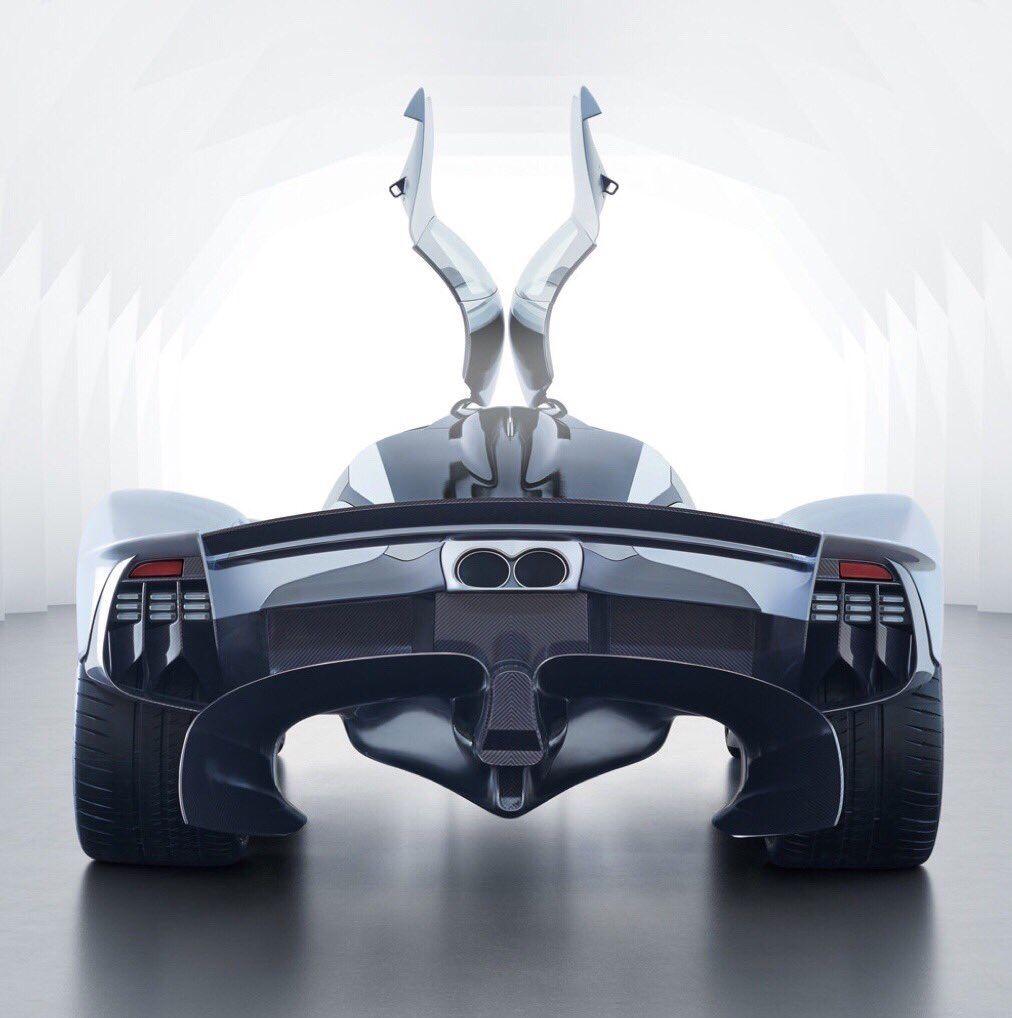 Aston Martin Valkyrie Hypercar: Aston Martin Valkyrie, A Carbon-fiber Hypercar Limited To
