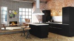 """Mistral_rio køkken fra Nygaard Design. Designer køkken fra """"Det frie køkken"""". Få inspiration til dit nye køkken."""