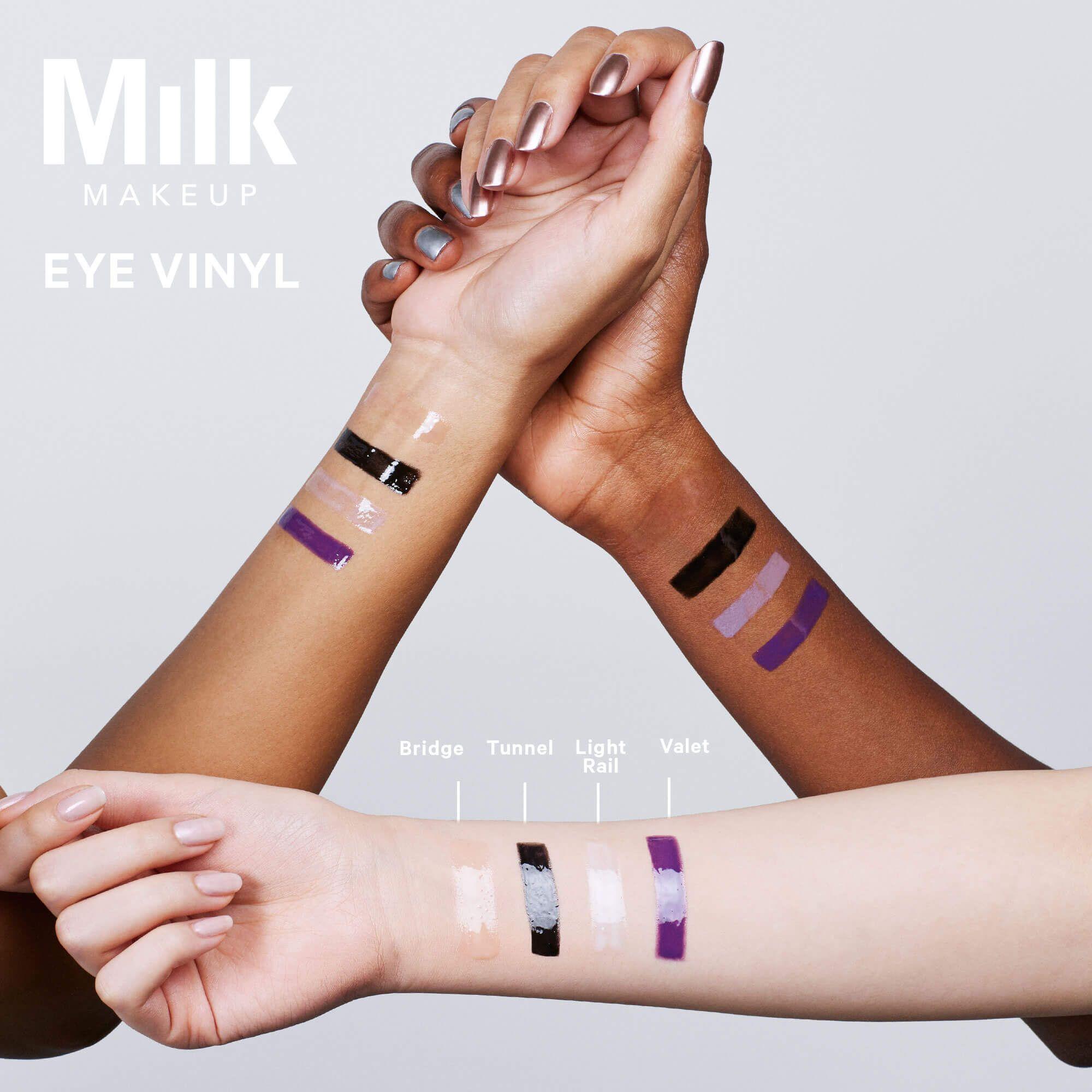 Eye Vinyl Milk Makeup Milk makeup, Eye makeup, Makeup