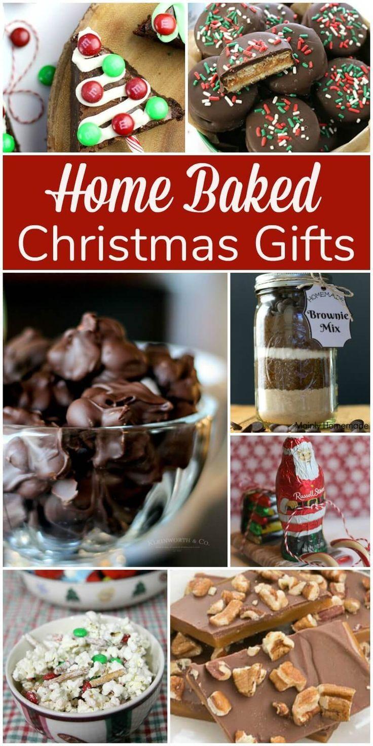 home baked christmas gifts christmastreats
