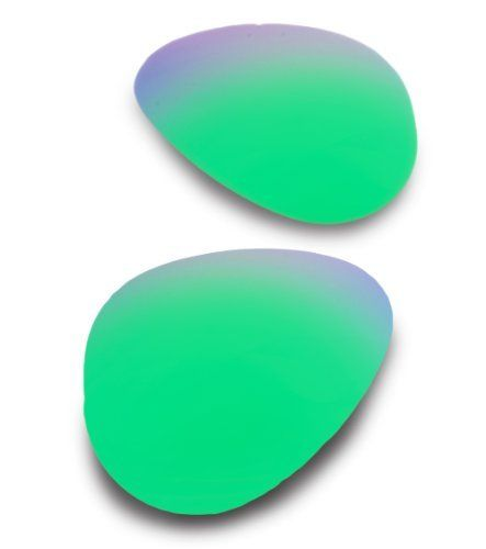 EyeKon Lenses for Ray-Ban RB3025 (Aviator Large) 58 Saphire Green Polarized  Replacement 7c502090cd16