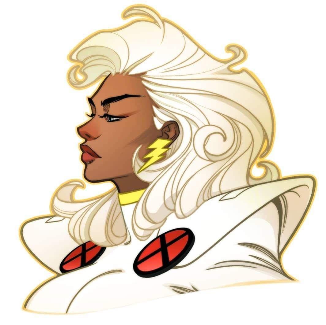 Ororo Munroe Storm 90s X Men By Amelia Vidal Storm Marvel Xmen Art Storm Comic