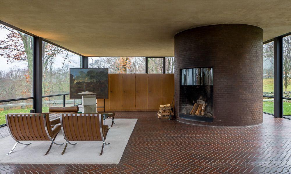 La casa de cristal de Philip Johnson | HomeAdore | arquitectura ...
