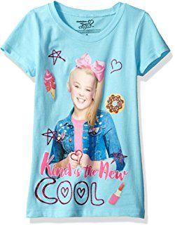 204634134 Nickelodeon Little Girls  Jojo Siwa Short Sleeve T-Shirt