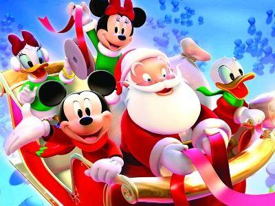 Obrazki Z Postaciami Z Bajek Christmas Cartoons Disney Christmas Disney Christmas Decorations