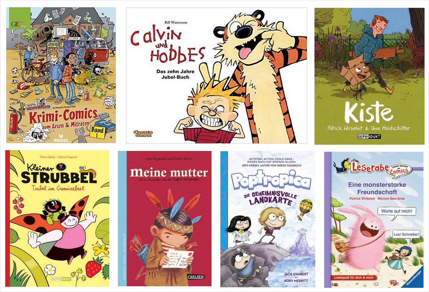 graphic novels für kinder buch trifft comic