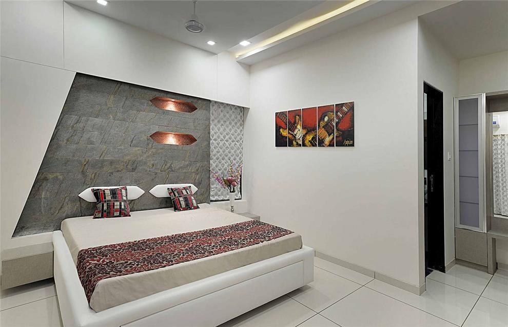 Bedroom Design In Sample Flat Bed Room Design Pinterest
