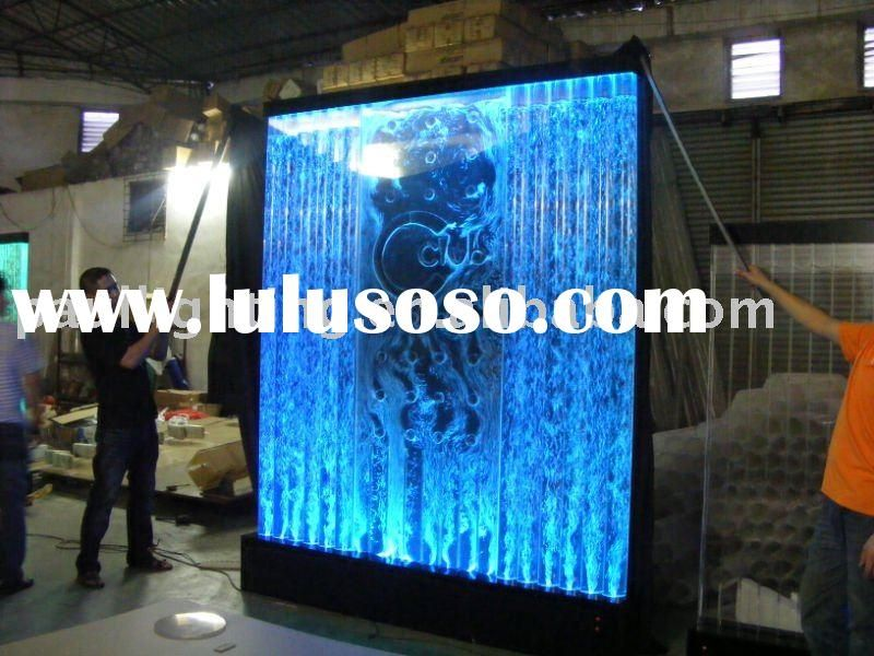 Free standing water bubble panel,indoor waterfall | all things i ...