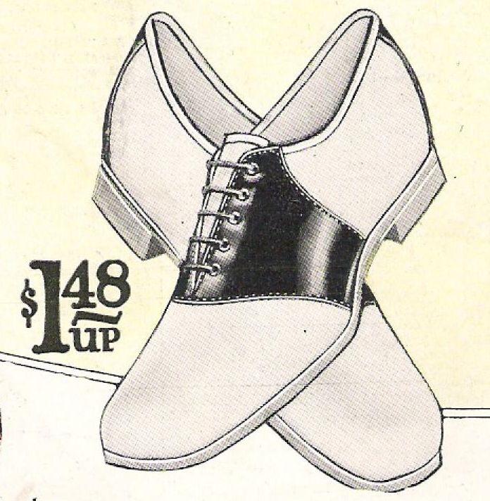 shoe illustrations 1920s twenties | witness2fashion