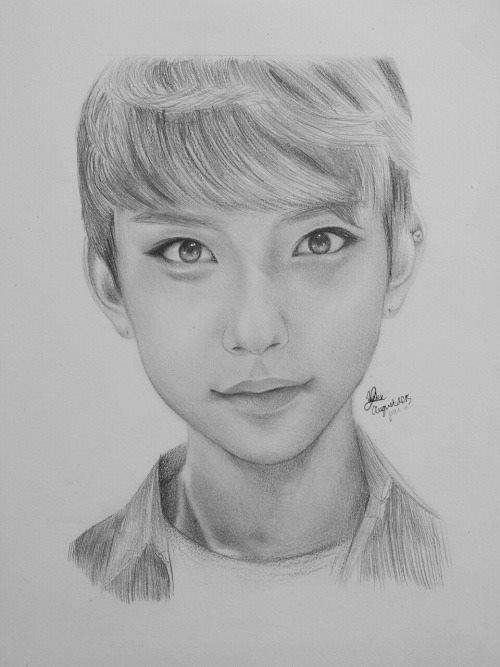 #Seventeen FanArt Joshua | Fandom Art | Seventeen, Fan art ...