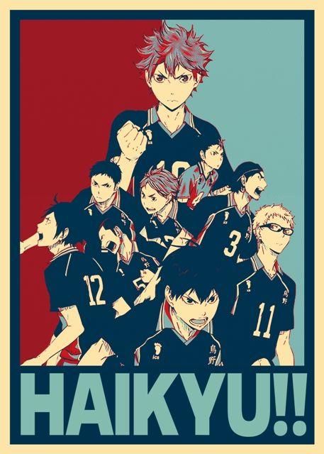 haikyuu poster