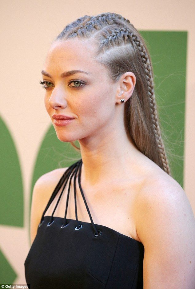 Leggy Amanda Seyfried shows off cornrows in LBD at Ted 2 premiere