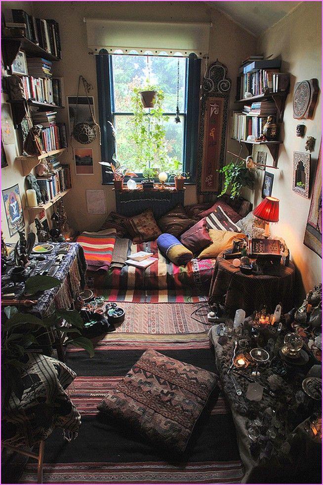 hippie-bedroom-decor.jpg (654×982) | Beautiful Spaces | Pinterest ...