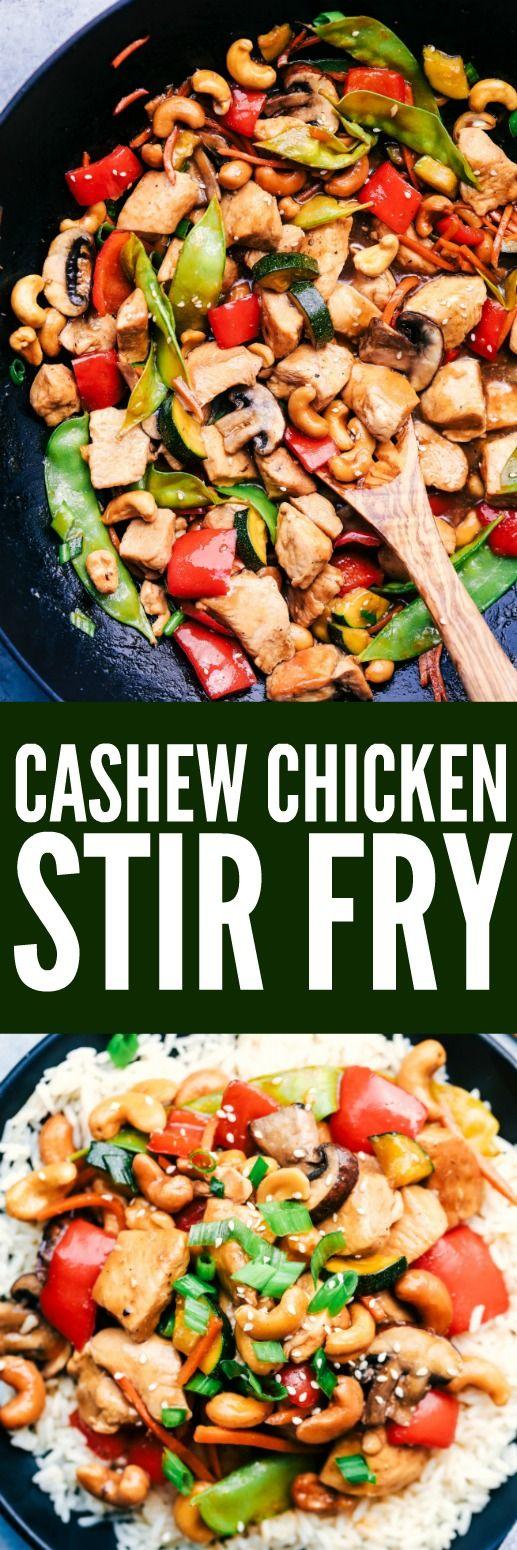 Cashew Chicken Stir Fry images